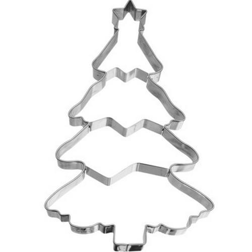 Ausstechform Christbaum 18,5 cm Ausstecher XXL Baum Lebkuchen Birkmann