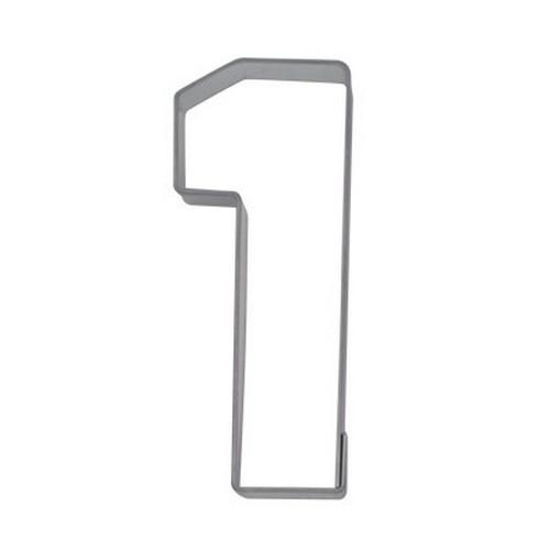 Ausstechform Zahl 1 Ausstecher Eins Zahlen 6,5 cm Städter