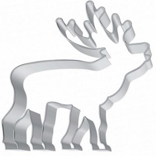 Ausstechform Hirsch 8 cm Ausstecher Birkmann