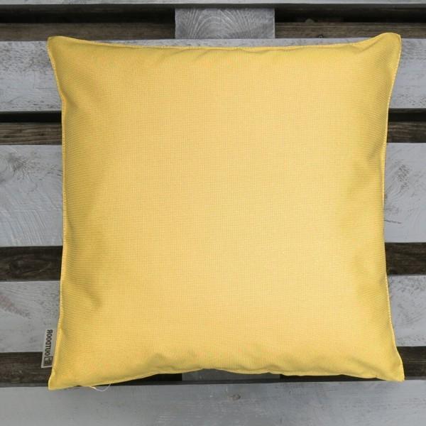 Outdoor Kissen St. Maxime gelb 47 cm Garten für draußen Newstalgie