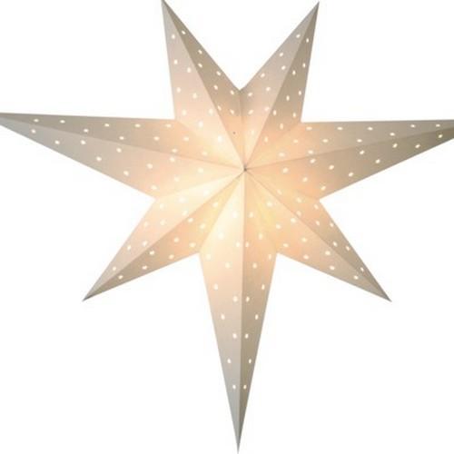 Starlightz Twinkle weiß Leuchtstern Papier Stern Lampe Weihnachtsstern