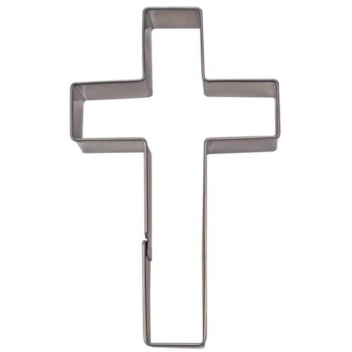 Ausstechform Kreuz 9 cm Ausstecher Glaube Städter