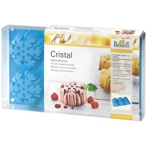 Backform Eiskristall Cristal groß Silikon 6 er Birkmann