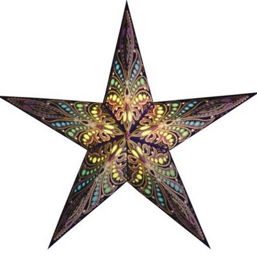 Starlightz Queen of Tahiti Leuchtstern Papier Stern Lampe Weihnachtsstern