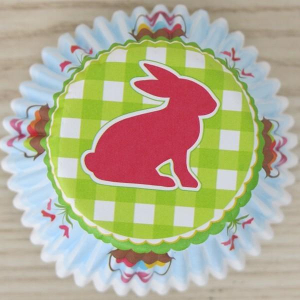 Muffinförmchen Cupcake Osterhase Ostern 50 Stück Städter