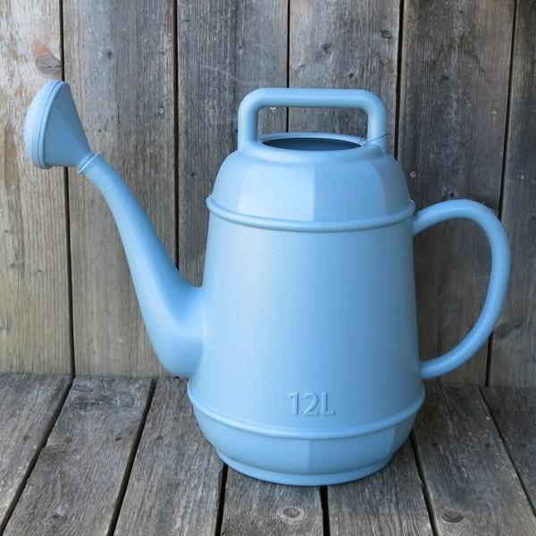 Gießkanne Form Kaffeekanne blau hell 12 l Kunsstoff Newstalgie