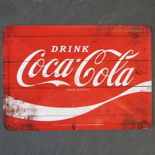 Nostalgic Art Blechpostkarte Drink Coca Cola Metall Postkarte