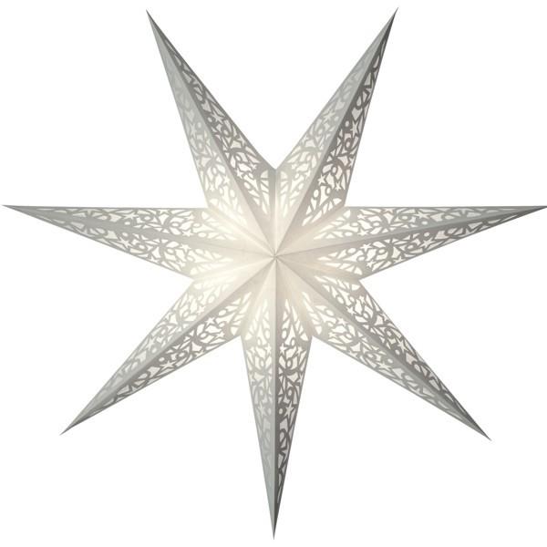 Starlightz Stern Lux weiß 45 cm Leuchtstern Papier Faltstern Weihnachtsstern