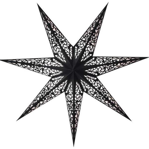 Starlightz Stern Lux schwarz 45 cm