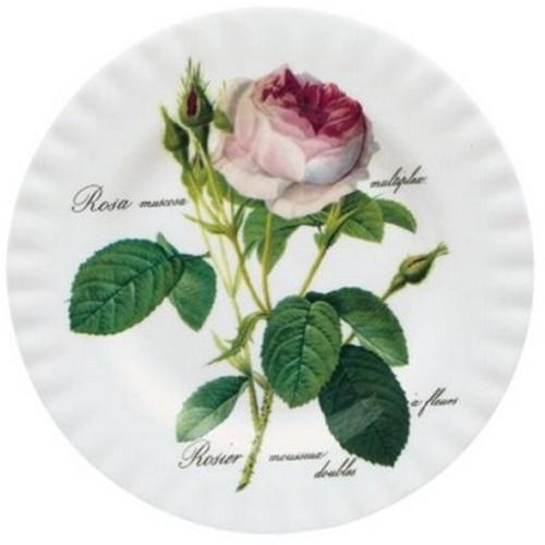 Roy Kirkham Redoute Rose Frühstücksteller 21 cm Teller