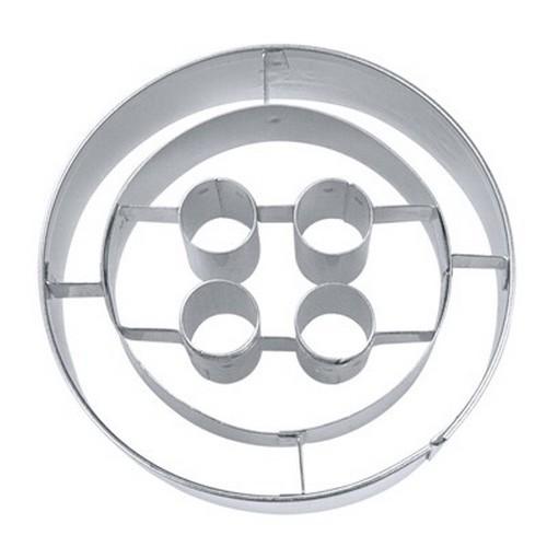 Ausstechform Knopf 7 cm Ausstecher Knopf Städter