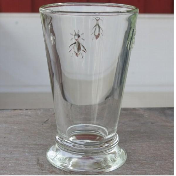 La Rochere Glas Biene 1 x Becher hoch Longdrink Abeille