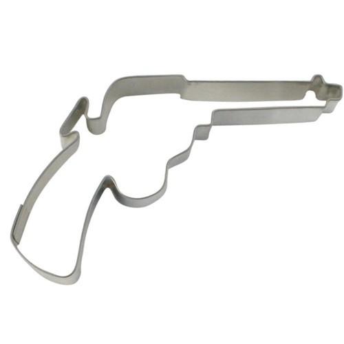 Ausstechform Revolver 8 cm Ausstecher Colt Städter