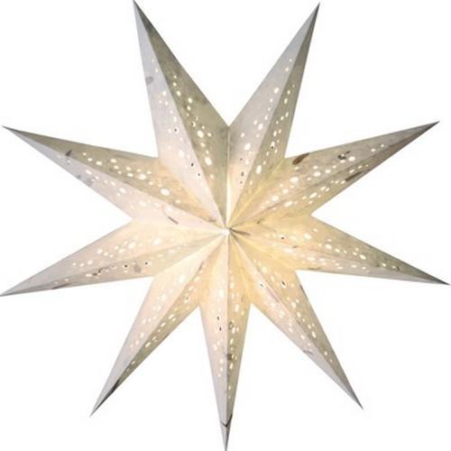 Starlightz Spumante Klein Weiss Leuchtstern Papier Stern Lampe