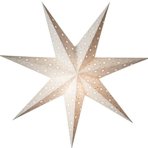 Starlightz Leuchtstern Cristal weiss Stern Papier Weihnachtsstern