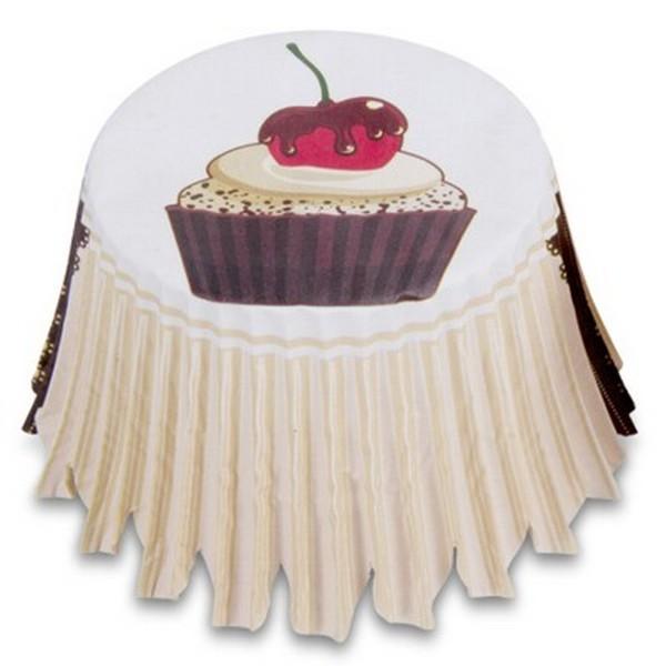 Muffinförmchen Cupcake Papierförmchen Muffin Kaffeehaus Kirsche Städter