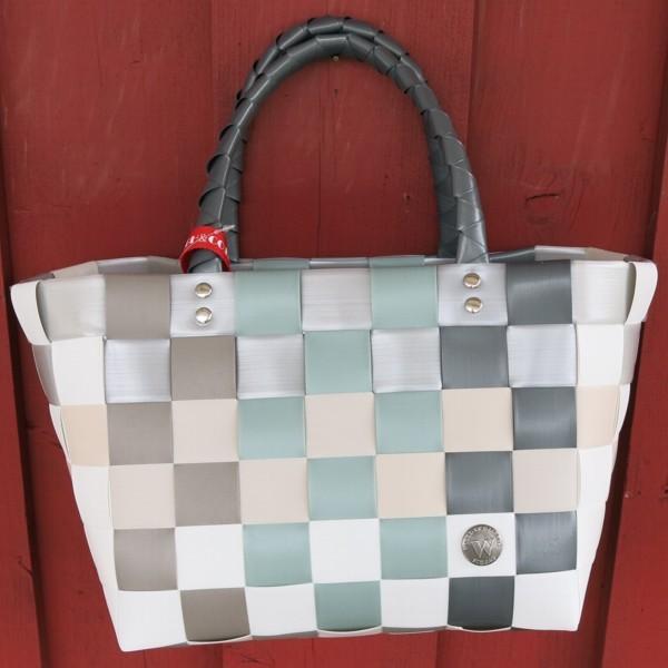 ICE BAG 5008 26 Witzgall Mini Shopper grau taupe grün Kob Tasche