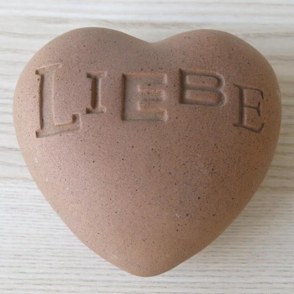 Räder Poetry Hearts LIEBE Keramik Herz