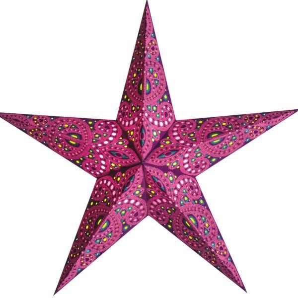 Starlightz Stern Devi berry Papierstern 60 cm