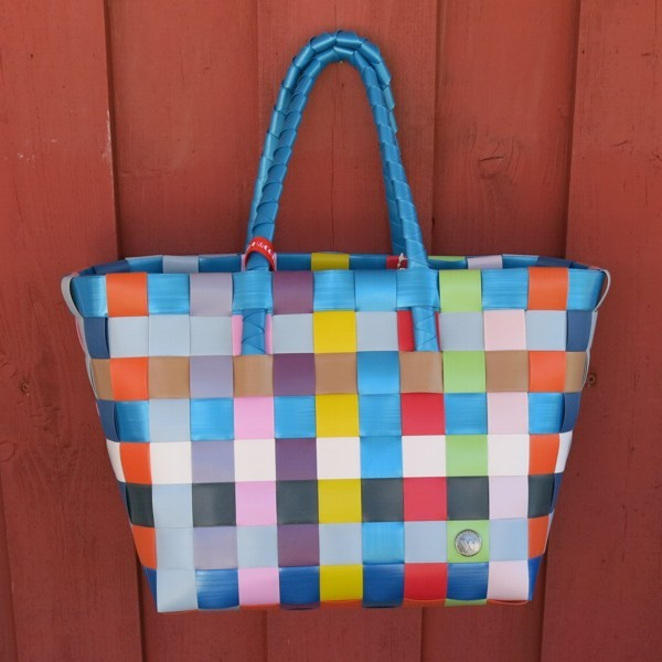 ICE BAG 5010 74 Witzgall Shopper blau orange gelb grün rot
