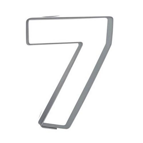 Ausstechform Zahl 7 Ausstecher Sieben Zahlen 6,5 cm Städter