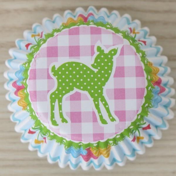 Muffinförmchen Cupcake Ostern Reh 50 Stück Städter