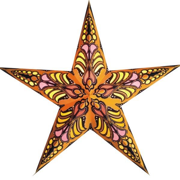 Starlightz Stern Ramadasa gelb 60 cm Papierstern Leuchtstern