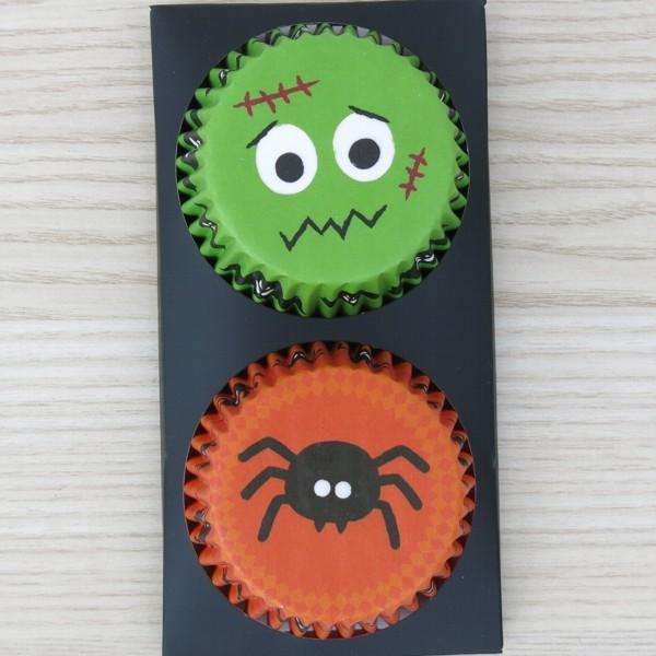 Muffinförmchen Papierförmchen Halloween II 48 Stück Birkmann Cupcake