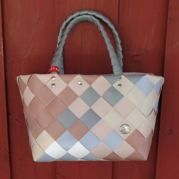 Einkaufskorb ICE BAG 5008 06 Mini Shopper rosa grau Witzgall Tasche