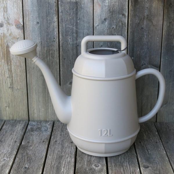 Gießkanne linen 12 l Kunststoff Form Kaffeekanne NEWSTALGIE