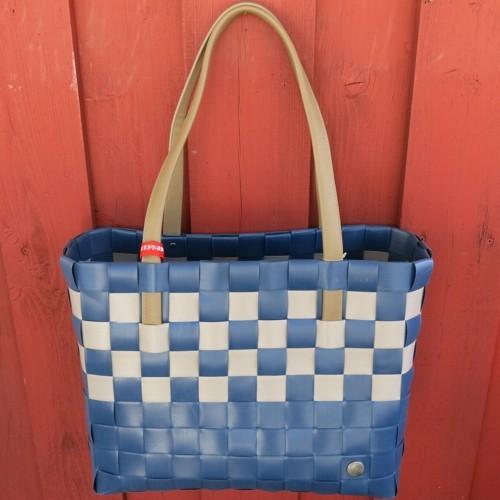 ICE BAG 5030 67 Tasche Witzgall Chic Shopper blau braun Einkaufstasche