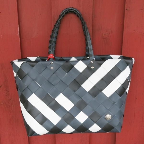 Witzgall ICE BAG Shopper 5017 04 schwarz weiß Einkaufskorb