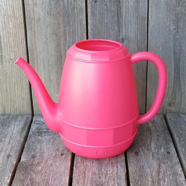 Gießkanne pink 1,8 l Kunststoff Zimmergießkanne Blumengießkanne