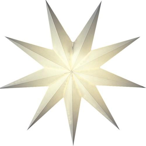 Starlightz Stern Suria weiß klein Papierstern Faltstern Weihnachtsstern