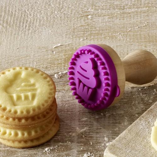 Keks Stempel Cupcake Plätzchen 5 cm Cookie Stamp Birkmann