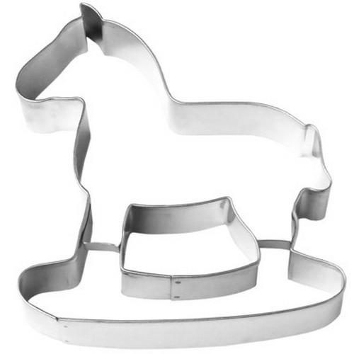Ausstechform Schaukelpferd 12 cm Ausstecher Lebkuchen Pferd Birkmann
