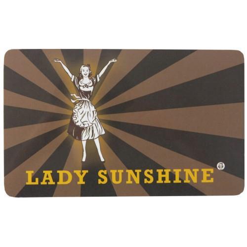 Frühstücksbrettchen Lady Sunshine Greta Gold Blümchen