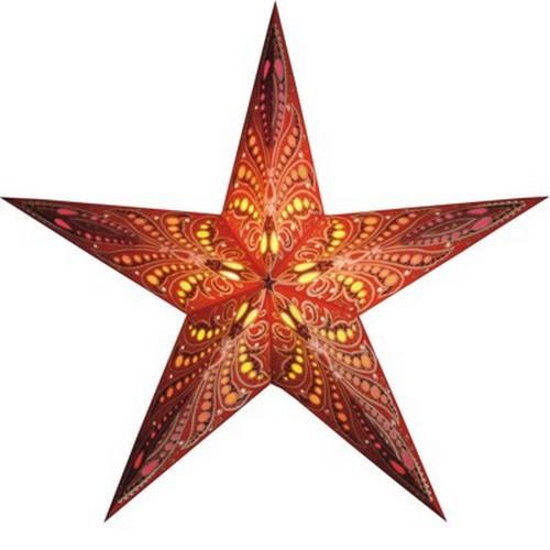 Starlightz Queen of Tonga Leuchtstern Papier Stern Lampe Weihnachtsstern