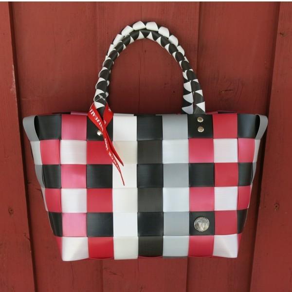 Witzgall ICE BAG Mini 5008 25 Einkaufskorb klein rot grau weiß