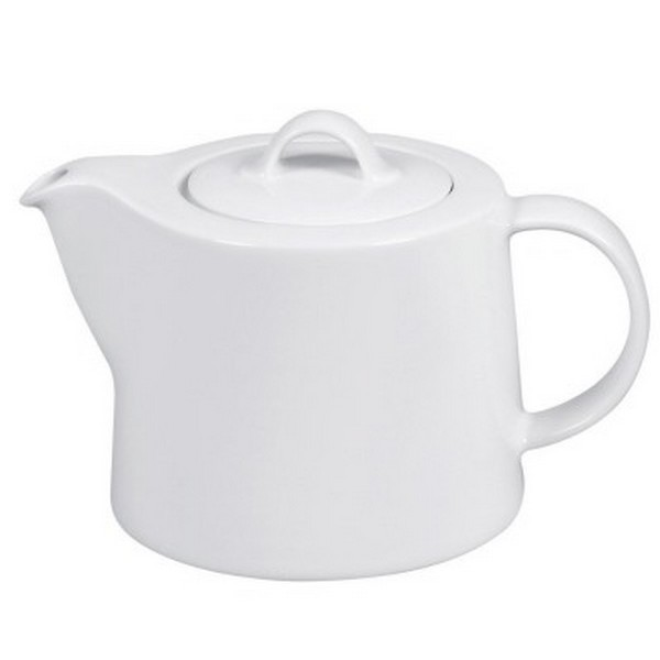 Arzberg Cucina Teekanne weiß 0,8 l Porzellan Kaffeekanne