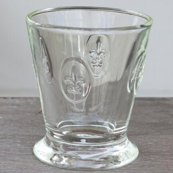 La Rochere Glas Lilie 1 x Becher Fleur de Lys Wasserglas