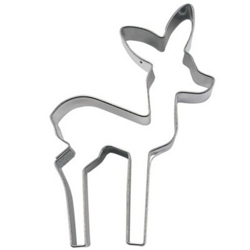 Ausstechform Reh 7 cm Ausstecher Kitz Bambi Städter