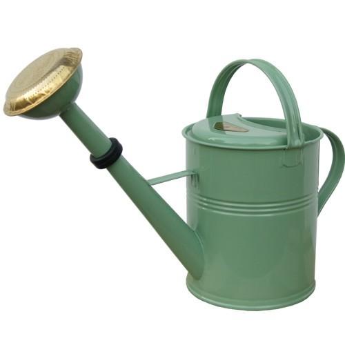 Gießkanne 5 L Retro Kunststoff Zink mit Brause Gartengießkanne