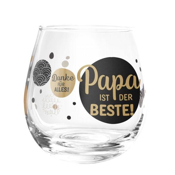 Formano Glas Spruch Papa ist der Beste Danke für alles Wein Gin Cocktail