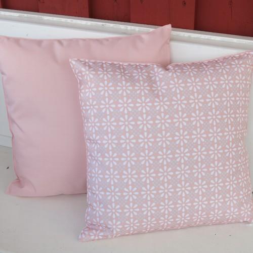 Tropez Garten für draußen Outdoor Kissen rosa dunkel Erdbeere 47 cm St