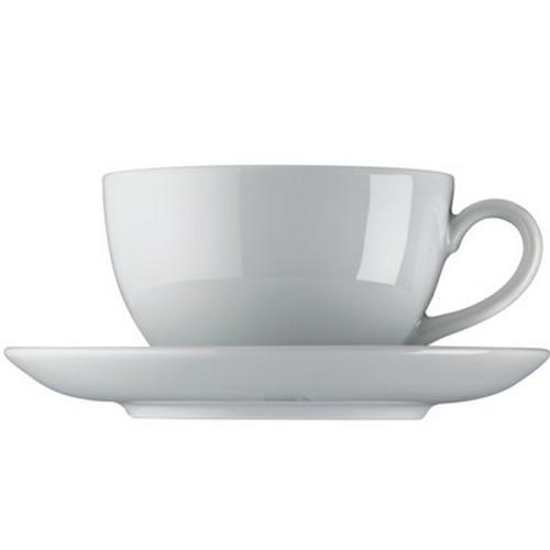 Arzberg Küchenfreunde Milchkaffeetasse Tasse weiß Porzellan