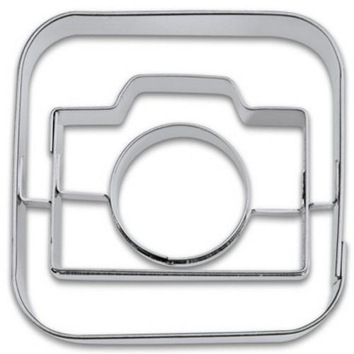 Ausstechform App Camera 5 cm Ausstecher Apps Kamera Foto Städter
