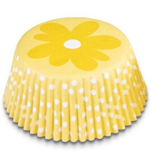 Muffinförmchen Cupcake Papierförmchen Muffin Blume gelb Städter
