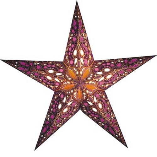 Starlightz Taj Leuchstern Papier Stern Lampe Weihnachtsstern