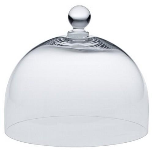 Glashaube für Tortenplatte 29 cm Haube Glasglocke Glas Abdeckhaube Vintage Birkmann